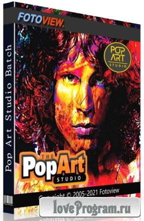 Pop Art Studio 10.0 Batch Edition Portable by conservator