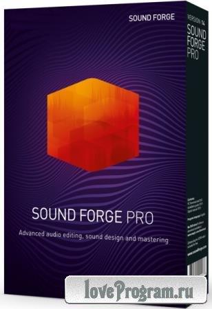 MAGIX SOUND FORGE Pro 15.0 Build 57 + Rus