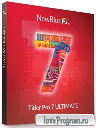 NewBlue Titler Pro 7 Ultimate 7.7.210515