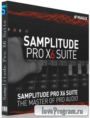 MAGIX Samplitude Pro X6 Suite 17.0.1.21177