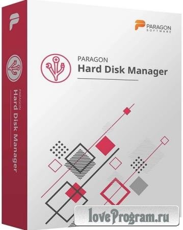 Paragon Hard Disk Manager 17 Business 17.16.16 + WinPE