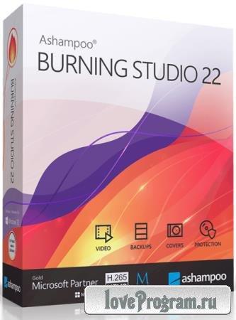 Ashampoo Burning Studio 22.0.8.34 RePack & Portable by TryRooM