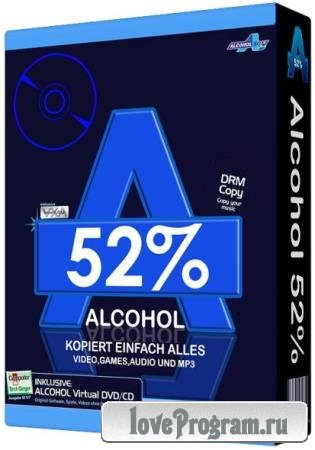 Alcohol 52% 2.1.1 Build 611 Free Edition Final
