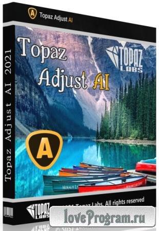 Topaz Adjust AI 1.0.6