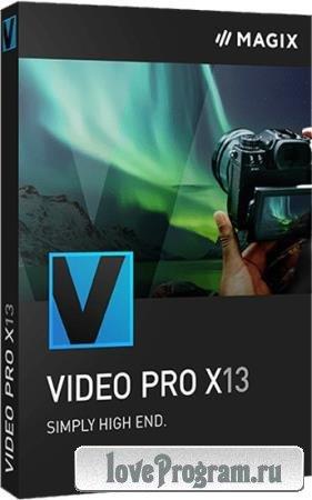 MAGIX Video Pro X13 19.0.1.107 + Rus