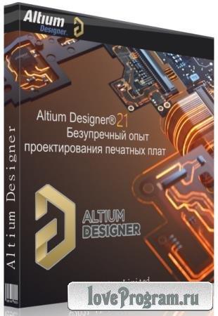 Altium Designer 21.6.1 Build 37