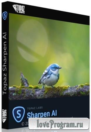 Topaz Sharpen AI 3.2.1 RePack & Portable by elchupakabra
