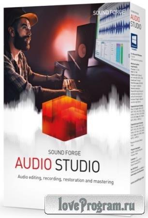 MAGIX SOUND FORGE Audio Studio 15.0 Build 57