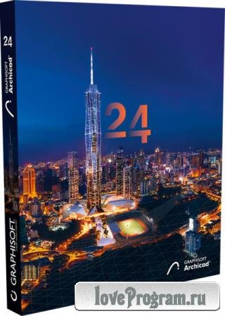 GraphiSoft ArchiCAD 24 Build 6004 RUS/ENG
