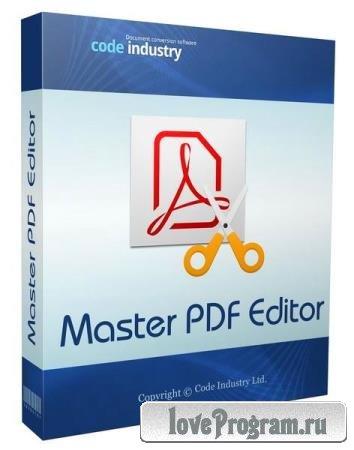 Master PDF Editor 5.8.06 + Portable