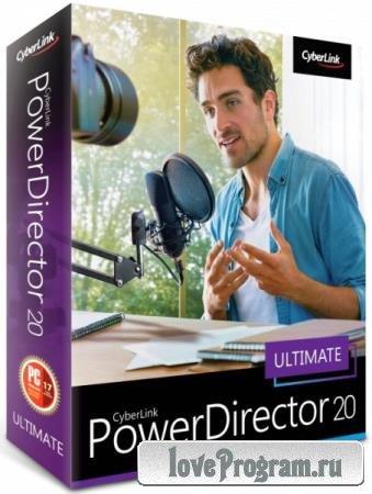 CyberLink PowerDirector Ultimate 20.0.2204.0 + Rus