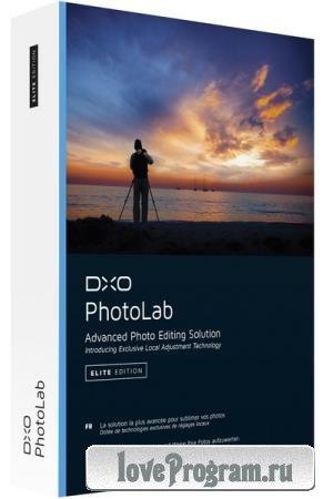 DxO PhotoLab Elite 5.0.0 Build 4639 RePack + Portable