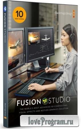 Blackmagic Design Fusion Studio 17.3.2 Build 10