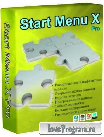 Start Menu X Pro 7.2