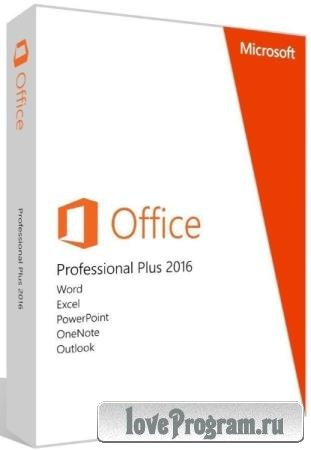 Microsoft Office 2016 Pro Plus 16.0.5215.1000 VL RePack by SPecialiST v21.10