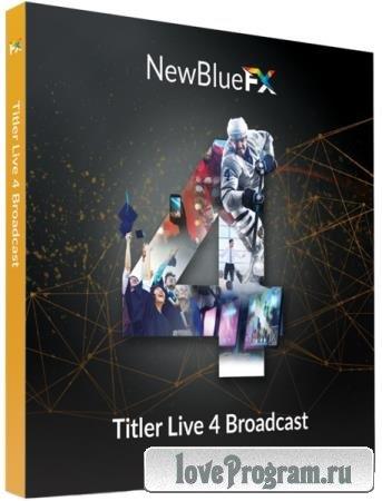 NewBlue Titler Live 4 Broadcast 4.3.211018