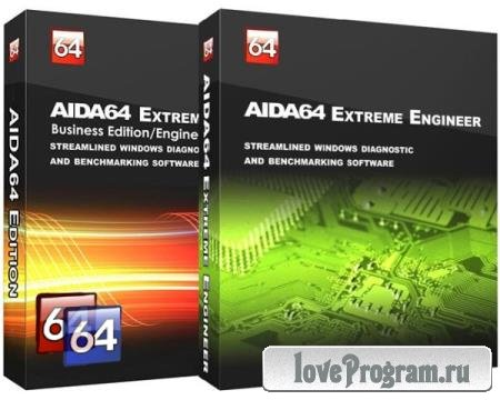 AIDA64 Extreme / Business / Engineer / Network Audit 6.50.5800 Final RePack & Portable by KpoJIuK