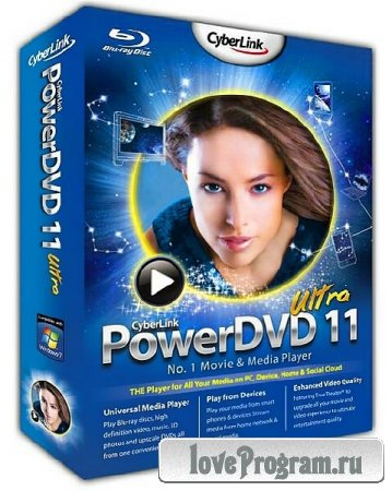 CyberLink PowerDVD Ultra 11.0.2608.53 Portable (x86/x64)